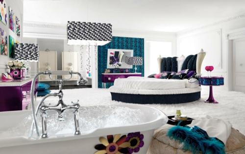 badewanne schlafzimmer Einrichtungsideen für Jugendzimmer