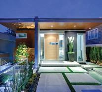Veranda gestalten – innovative und farbenfrohe Wohnideen