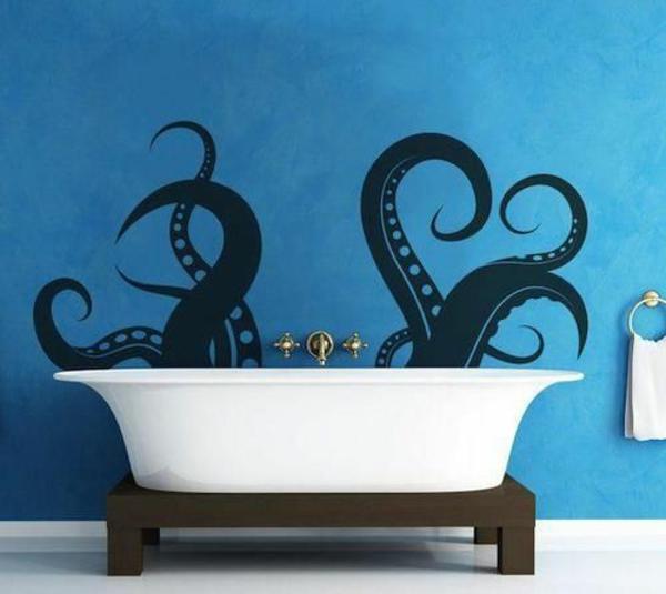 Wände Wohnideen für erstaunliche Wanddekoration badewanne