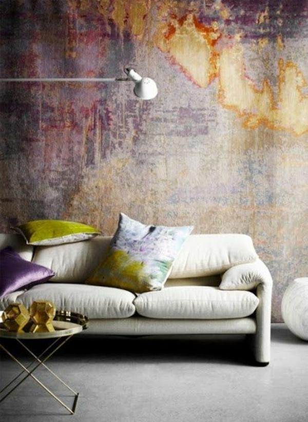 Wände Wohnideen für erstaunliche Wanddekoration elegant