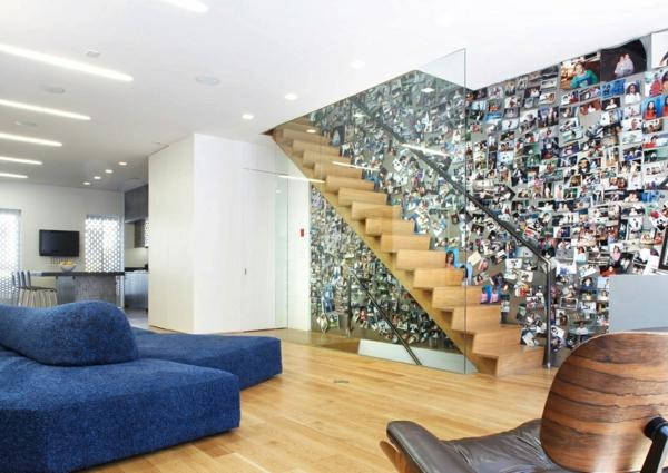 Kreieren Sie eine extravagante Fotosammlung an der Wand, indem Sie ...
