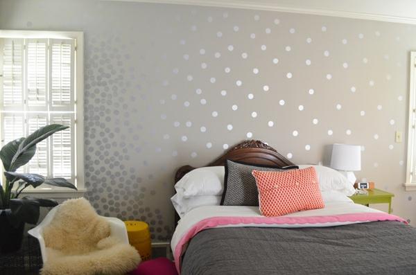 Wände Wanddekoration mattiert