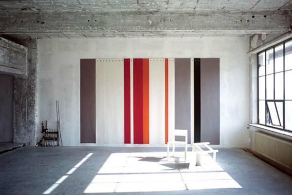 Wohnzimmer Ideen : Wohnzimmer Ideen Wandgestaltung Streifen, Modern Dekoo