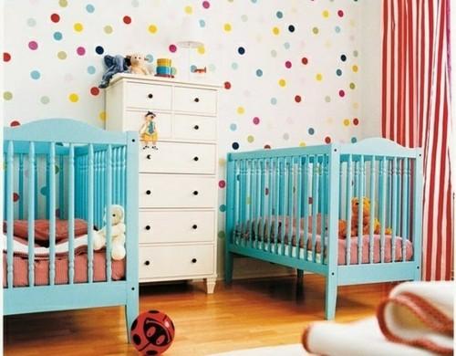 Wanddekoration frische farben und coole tapetenmuster freshideen 3 - Wandmuster ideen ...