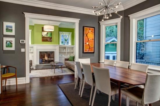 Esszimmer Farbe: Wohn esszimmer suche ideen f r farbe u vorh nge.