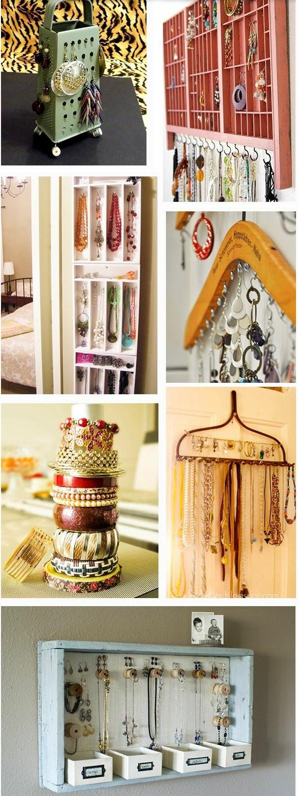 schmuckst nder selber machen diy ideen f r schmuckaufbewahrung. Black Bedroom Furniture Sets. Home Design Ideas