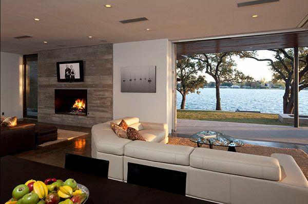 Modernes Wohnzimmer Bilder: Modernes wohnzimmer in grau. Modernes ...