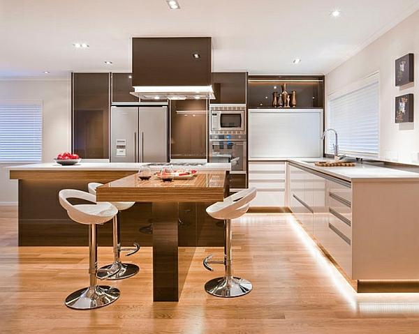 ausgeklügelt kücheneinrichtung küchenmöbel warm licht