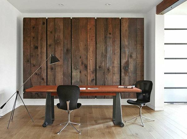 büro home office wanddeko wall art holz platten