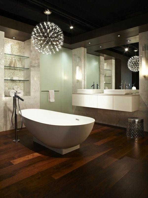 Badezimmer Ideen Bilder Dunkel Ausstattung