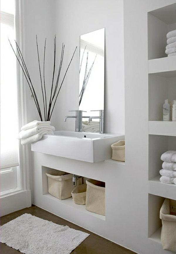 Moderne badezimmer ideen coole badezimmerm bel for 4 miroirs vague ikea
