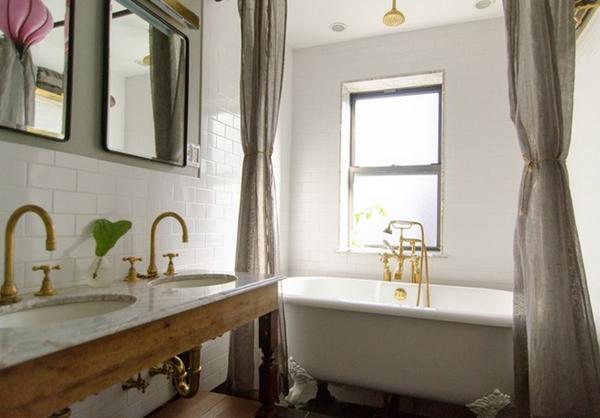dekoartikel für einrichtungsideen badezimmer messingprofile fliesen