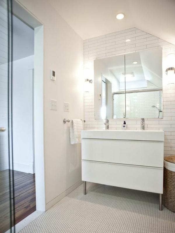 Badezimmer spiegelschrank wei