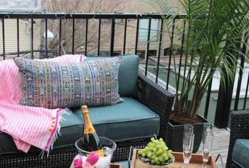 balkonpflanzen bewohnlich entwerfen idee gemütlich geläner