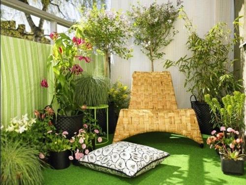 bewohnlich entwerfen idee gemütlich geläner balkonpflanzen