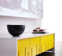 Wandgestaltung im Flur – 50 Einrichtungstipps und Wandfarben Ideen