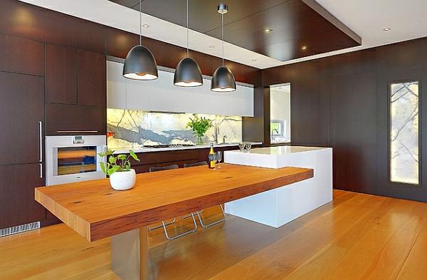 bauplan zeitgenössisch kücheneinrichtung
