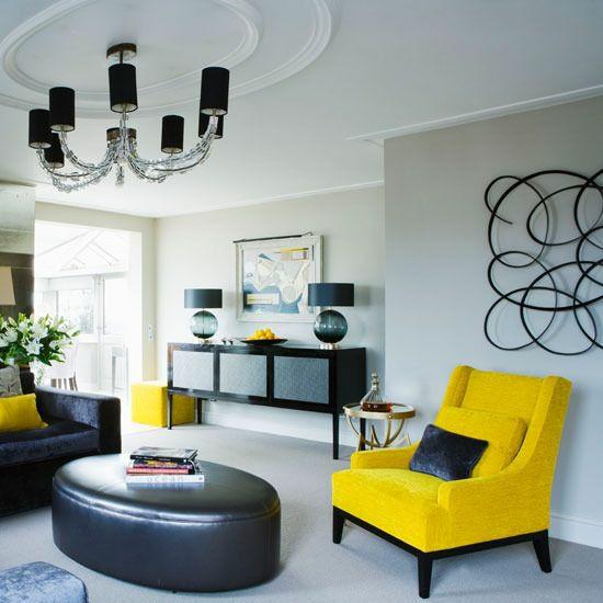 beleuchtung kromleuchter kunstwerk modernes wohnzimmer gestalten farbakzente weiß
