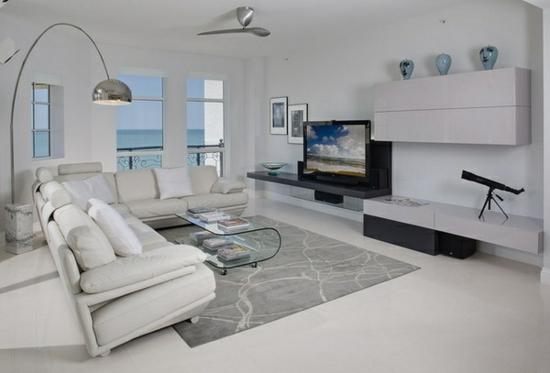 wohnzimmer weiß braun schwarz gemütlich auf moderne deko ideen ... - Wohnzimmer Weis Silber