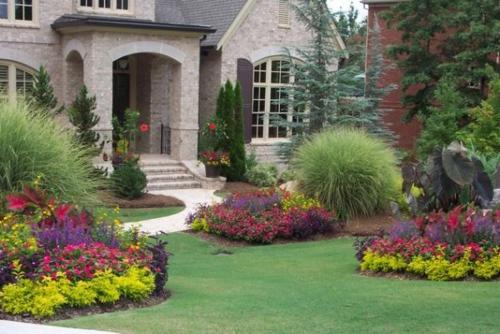 kiesel blumen pflanzen arten idee bilder zur vorgartengestaltung idee steine - Vorgarten Ideen