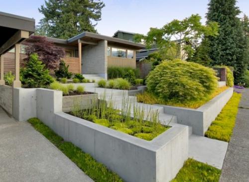 Gartengestaltung Modern Design :  garten ideen gartengestaltung modern komfortabel schön ideen design