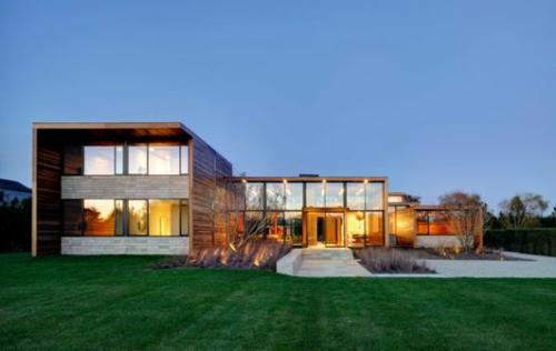 minimalistische architektur sachlich vorgarten modern