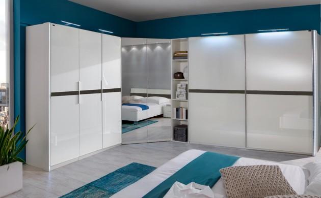 schlafzimmerm bel kleiderschrank schlafzimmerschrank doppelbett polsterbetten freshideen 2. Black Bedroom Furniture Sets. Home Design Ideas