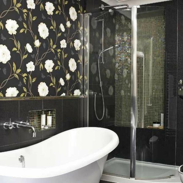 Mosaik Fliesen Dusche Versiegeln : Mosaik Fliesen Dusche Reinigen : Helle Und Dunkle Fliesen In Der