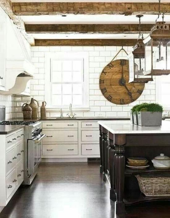 50 moderne Landhausküchen – Küchenplanung und rustikale ...