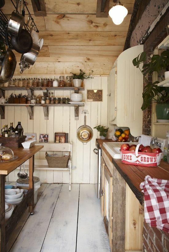 50 moderne Landhausküchen - Küchenplanung und rustikale Küchenmöbel | {Rustikale landhausküchen weiss 56}