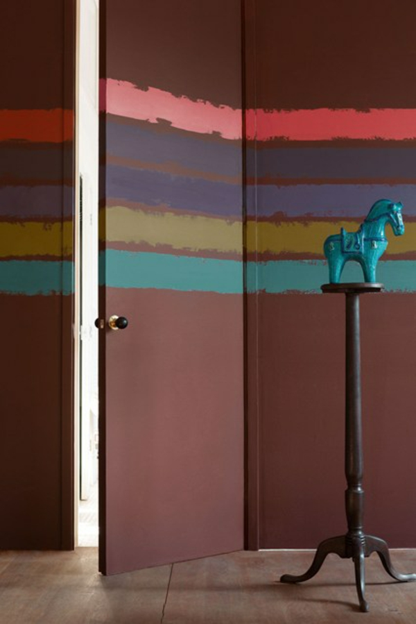 braun wall art kunst kleiderständer flur