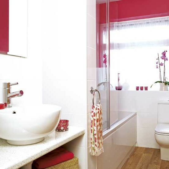 badezimmer dekoration rot ~ raum haus mit interessanten ideen, Deko ideen