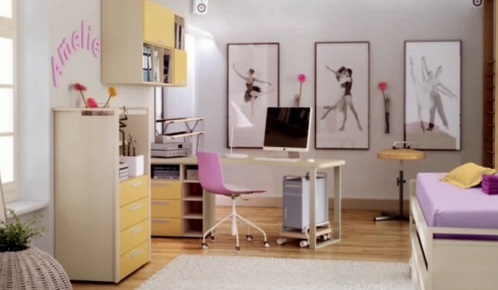 50 einrichtungsideen f r jugendzimmer denken sie bunt. Black Bedroom Furniture Sets. Home Design Ideas