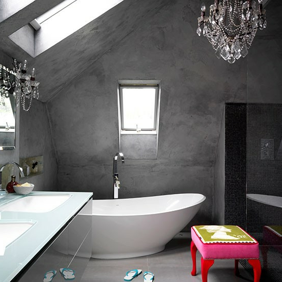 Modernes Einrichten Dachgeschoss ~ Raum  Und Möbeldesign Inspiration,  Wohnzimmer Design