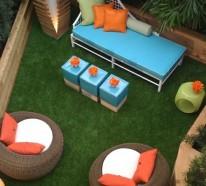 dachterrassengestaltung ideen beispiele und wichtige aspekte. Black Bedroom Furniture Sets. Home Design Ideas