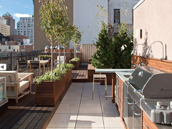 Dachterrassengestaltung ideen beispiele und wichtige aspekte - Rooftop terrace beautiful and fresh rooftop decorating ideas ...