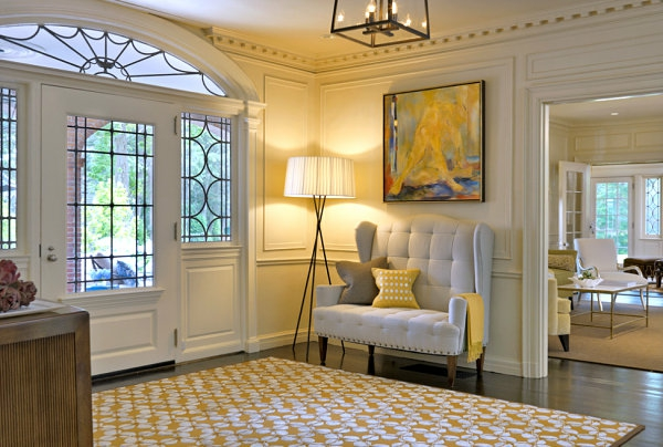 dekoideen und wandgestaltung im flur ihres hauses. Black Bedroom Furniture Sets. Home Design Ideas