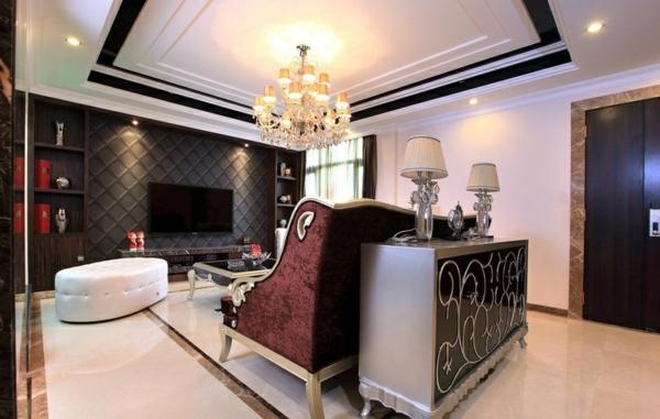 110 Luxus Wohnzimmer im Einklang der Mode