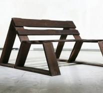 Gartenmöbel aus Paletten – trendy Außenmöbel selber bauen