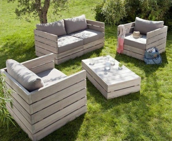 gartenm bel aus paletten trendy au enm bel zum selbermachen. Black Bedroom Furniture Sets. Home Design Ideas