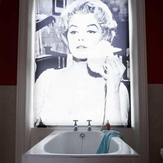 effekt wandgestaltung badewanne dramatisch hollywood