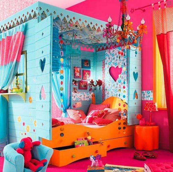einbaubett für kinder schlafzimmer