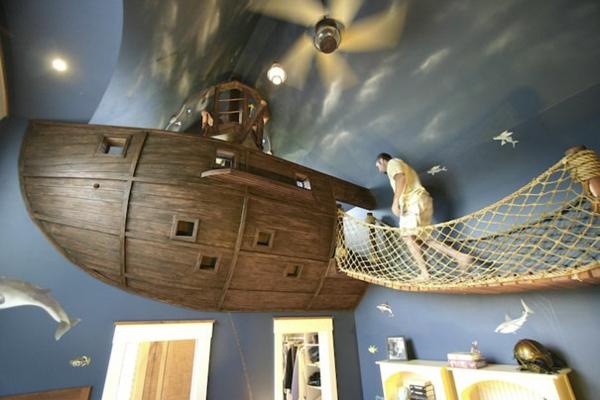 einrichtungsideen wohnzimmer zimmerdecke schiff haus