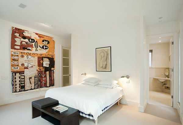 energiesparen schlafzimmer tisch wanddekoration bild