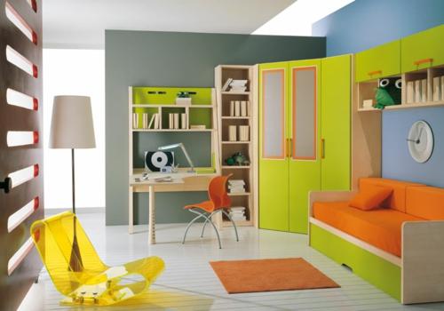 ambiente jugendzimmer sofa sessel akryl erfrischend farben