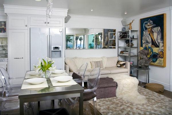esstisch edelstahl modern küche esszimmer