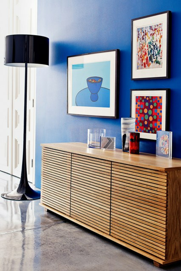 wandfarben blau raum und m beldesign inspiration. Black Bedroom Furniture Sets. Home Design Ideas