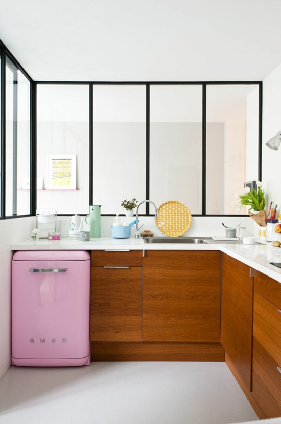 farbideen f r ihre wohnung stilvolle farbgestaltung mit rosa. Black Bedroom Furniture Sets. Home Design Ideas