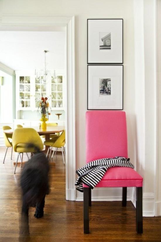 Farbideen f r ihre wohnung stilvolle farbgestaltung mit rosa for Farbideen flur
