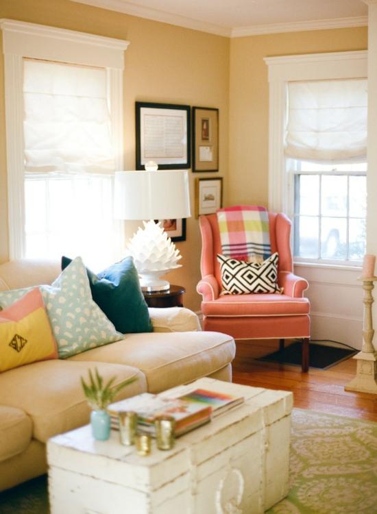 Gartenmobel Wetterfest Lounge : Farbideen für Ihre Wohnung stilvolle Farbgestaltung mit Rosa